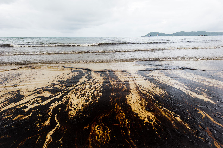 Oil rig spill